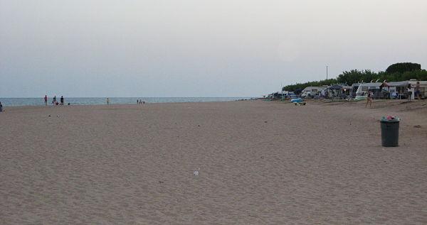 Pláž ve Španělsku